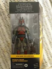 Star Wars Black Series Mandalorian Super Commando BRAND NEW