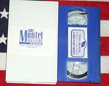 In Search of UFO's 9/19/94 VHS Video Tape The Montel Williams Show, Rare U.F.O.