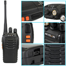 Retevis H777 Handheld Walkie Talkie 16Ch Ctcss/Dcs Uhf 5W Two Way Radio Earpiece