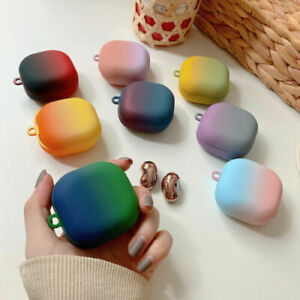 For Samsung Galaxy Buds Live Earphones Gradient Colour Matte PC Case Cover Shell
