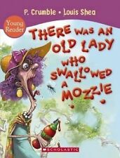 THERE WAS AN OLD LADY WHO SWALLOWED A MOZZIE Young Reader Children's Book BX6