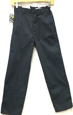 Boys Pants School Uniforms Navy Blue size 10 Waist Adjustable Authentic Galaxy