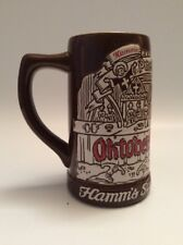 Vintage 1973*Hamm's BeerBear*Oktoberfest* Tober Fest*Octoberfest*Mug Stein*