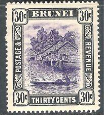 Brunei 1907 violet/black 30c mint SG31