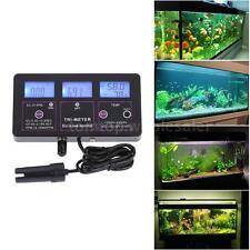 ABS Digital 6-in-1 Water Quality Monitor pH/RH/EC/CF/TDS/TEMP Test Meter
