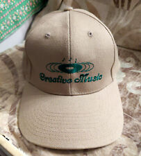 Promotional Ball Cap - CREATIVE MUSIC EMPORIUM NM 90s CD Dad Hat EMBROIDERED