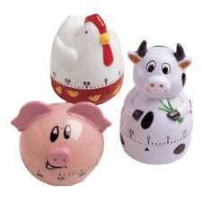 Farm Animals Kitchen Timer, Cow