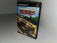 Hummer Badlands Jeu - PLAYSTATION 2 PS2 Cib Complet & Testé USA Ntsc i25
