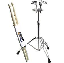 Pearl T-930 Doppel-Tomständer + KEEPDRUM Drumsticks 1 Paar