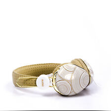 iHome Fashion Headphone White and Gold