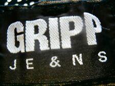 GRIPP Bootcut 99% Cotton Denim COOL GREY CORD Jeans SZ W 38  VGC RARE CORDAROYs