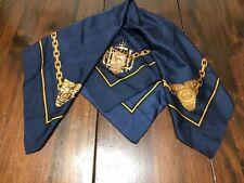 United States Naval Academy 1957-2007 Silk Scarf, Blue/Gold/Black USNA