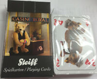 STEIFF Playing Cards 2015 Casino Royale Bear Cards SPIELKARTEN New Sealed MIP
