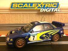 Scalextric Digital Subaru Impreza WRC Makinen No7 Solberg / Mills VGC