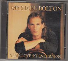 MICHAEL BOLTON - time love & tenderness CD