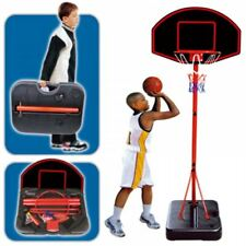 Grand portable ENFANTS PANIER DE BASKET autoportant Ensemble cerceau boule