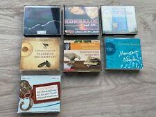 Hörbücher Sammlung bestehend aus 7 Romanen