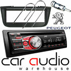 Peugeot 406 JVC CD MP3 AUX In Car Stereo Radio Player & Full Fitting Kit