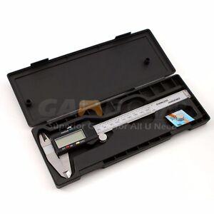 150mm/6inch LCD Digital Electronic Gauge Stainless Steel Vernier Caliper Ruler