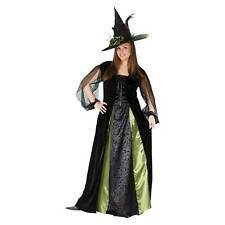 GOTHIC WITCH MAIDEN DRESS HAT COSTUME PLUS SIZE FW5774