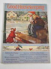 Good Housekeeping Magazine- January 1938: Mary Roberts Rinehart