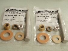 REAR ENGINE MOUNT BOLT KIT pair MERCRUISER 10-97934A1 R MR ALPHA  GEN II BRAVO