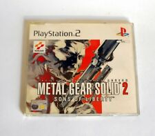 Metal Gear Solid 2 Sons of Liberty Demo Disk Sony (PS2) - ITALIANO - RARO