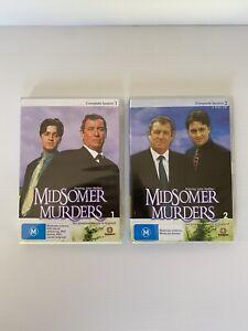 MIDSOMER MURDERS Season 1 & 2 DVD - Free Postage