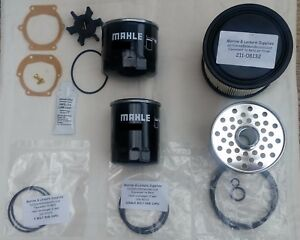 Beta Marine service kit 28 to 38 hp after 2010 plastic air filter housing'