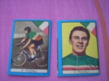 PIZZALI CYCLISME IMAGES CARDS FIGURINA BUSTE ACTION 1960 NANNINA ITALIE