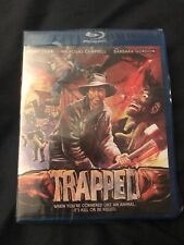 TRAPPED (1981) Henry Silva (OOP Code Red Blu-ray) BRAND NEW & SEALED!!