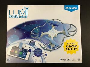 WowWee LUMI Gaming Drone Bluetooth Smart Device One-Touch Control NEW SEALED