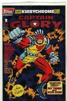 Captain Glory # 1 (1993, Topps Comics) Jack Kirby Factory Sealed w/ Trading Card
