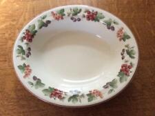 Wedgwood Provence Queen's Ware 0val vegetable bowl ca. 1990