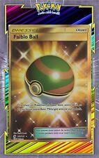 Faiblo Ball Secret- SL1:Soleil et Lune - 158/149 - Carte Pokemon Neuve Française