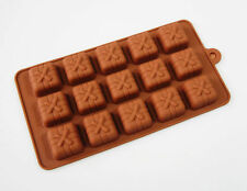 15 cell Chocolate Gift Present Box Candy Silicone Bakeware Mould Cake Wax Melt