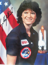 SIGNED NASA Sally Ride Space Shuttle STS-7 STS-41 G 'First USA Women in Space'