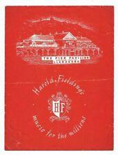 Pier Pavilion Llandudno Original Concert Programme 1954 Beryl Reid Rene Strange