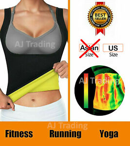 Hot Sweat Sauna Body Shaper Women Waist Trainer Neoprene Vest Slimming Thermal