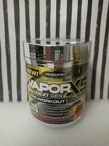 💥X1MUSCLETECH Vapor X5 Next Gen Pre Workout Powder 30/Serv FRUIT PUNCH EXP 1/22