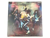 "Kiss Alive! Vinyl 12"" 2 Records LP NBLP-7020-798 Casablanca Records 1975 Insert"