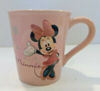 Disney Store Minnie Mouse Pink 3D Coffee Cup Mug Pink