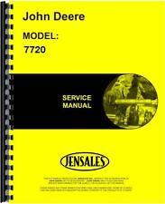 John Deere 7720 Combine Service Manual JD-S-TM1202