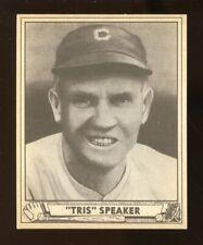 "1940 Play Ball ""TRIS"" SPEAKER Baseball Card #170 Ex-Mt+ No Creases (JO227)"