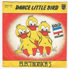 """Electronica's - Dance little bird / The marching tin soldier /7"""" Single von 1980"""