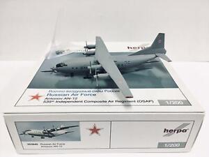Herpa Wings Russian Air Force Antonov AN-12 1:200 553940