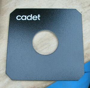 original Cambo Cadet Explorer fit  copal 1 41.8mm hole lens board panel 125mm sq