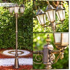 Laterne Kandelaber Außen Lampe Steh Wege Hof Mast Beleuchtung satiniertes Glas