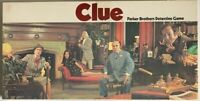 Clue Board Game 1972 Parker Brothers Vintage Complete