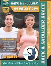 Shoulder Brace Back Support Corrector Comfortable Confidence Easy Use